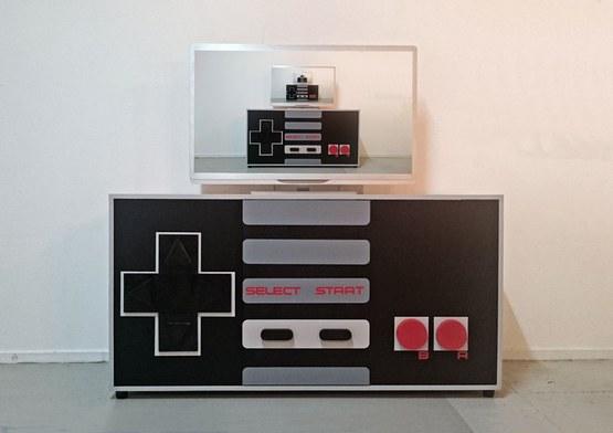 Nintendo Gamer Kast