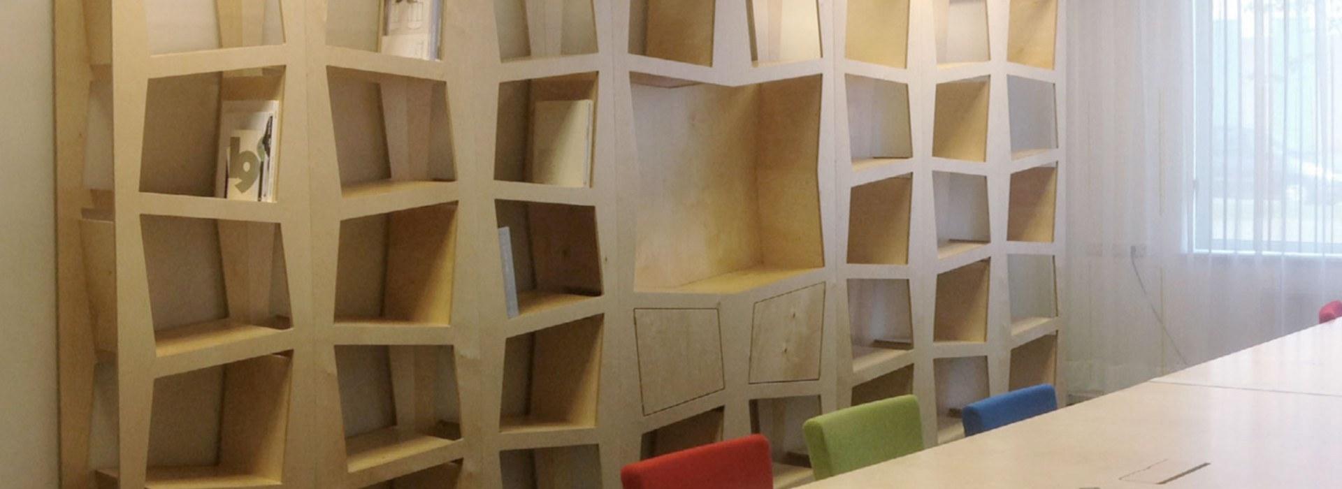 6 Degrees boekenkast